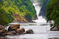 Murchison Falls.. Nile River! Uganda, Africa