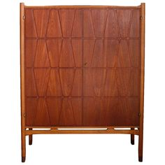 'Bangkok' Armoire by Yngve Ekstrom, Sweden 1960 | From a unique collection of antique and modern wardrobes and armoires at https://www.1stdibs.com/furniture/storage-case-pieces/wardrobes-armoires/