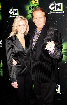 Actor Lee Majors and his wife Faith Cross