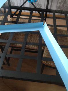 Het maken van een kubus van papier STAP 3: Plak de stroken aan elkaar