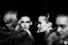 Backstage at Damir Doma Womens, Fall/Winter 2013/2014 | Paris @ http://le-21eme.com