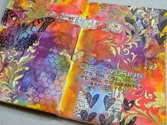 Annette's Creative Journey: March Art Journal Pages inspired by 12 Tags of 2015