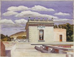 Saltillo Mansion - Edward Hopper 1943, Watercolor, 21 ¼ x 27 1/8 inches, The Metropolitan Museum of Art