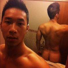 Hung asian men naked
