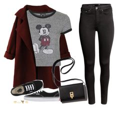 """""""Untitled #1430"""" by anarita11 ❤ liked on Polyvore featuring WithChic, Topshop, Charlotte Russe, Vans and H&M"""
