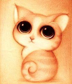 Dibujo de un gato (Título: Un gato, Autor: Faboarts)