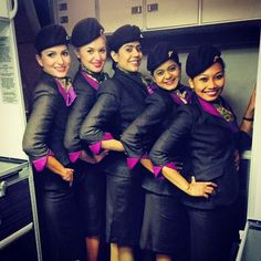 Our Cabin Crew take great pride in their appearance. What is your favourite part of their look?