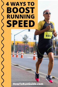 Learn how to increase pace and boost speed with these 4 valuable tips from a seasoned runner! Hill Workout, Workout List, Workout Schedule, Workouts, Learn To Run, How To Start Running, How To Run Faster, Running For Beginners, Running Tips