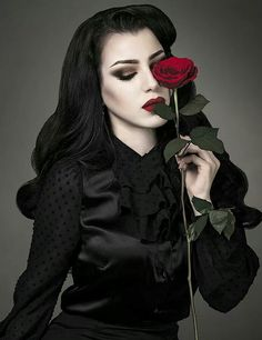"""A Goth Rose by any other name would smell as sweet..."""