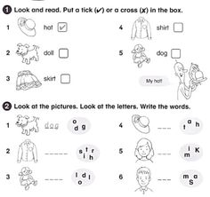 English Worksheets For Starters. Cambridge Starters, Worksheets, English, Writing, Words, Activities, Education, House, Image