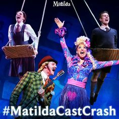 Matilda The Musical crashing a Google+ #Hangout!