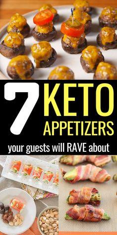 Keto Foods, Ketogenic Recipes, Keto Snacks, Low Carb Recipes, Healthy Snacks, Appetizers Superbowl, Low Carb Appetizers, Appetizer Ideas, Easy Appetizer Recipes