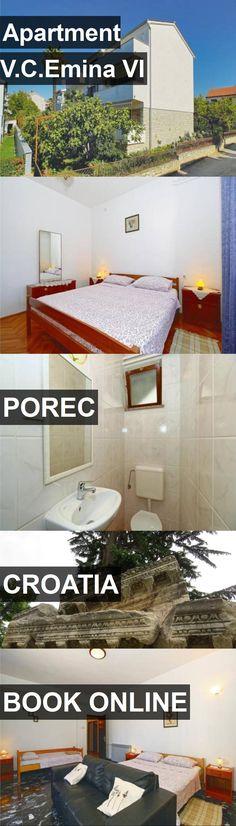 Apartment V.C.Emina VI in Porec, Croatia. For more information, photos, reviews and best prices please follow the link. #Croatia #Porec #travel #vacation #apartment