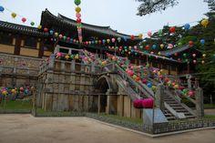 Bulguksa Temple, Gyeongju, South Korea.