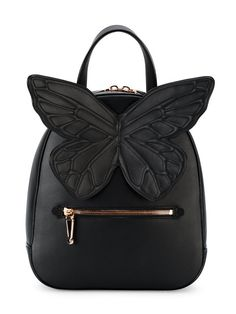 SOPHIA WEBSTER Kiko butterfly backpack. #sophiawebster #bags #leather #backpacks #