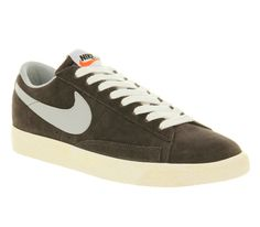 Nike Blazer Low Vintage Night Stadium Strata Grey - Unisex Sports