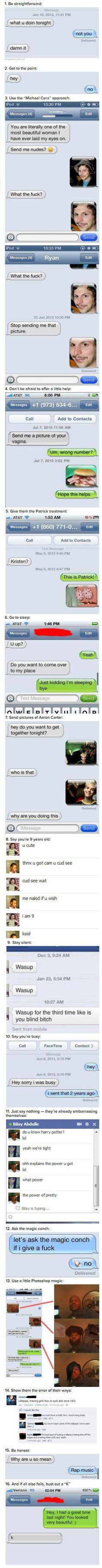 WowGags! 16 Great Ways To Avoid Talking To A Huge Creep