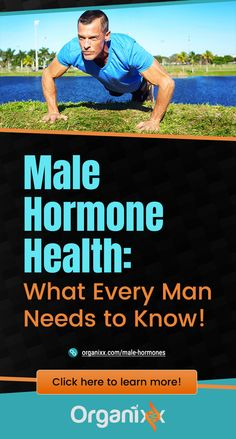 MALE HEALTH: Testosterone: it's a hidden life force inside every man's body that contributes to his masculinity. This vital male hormone is the essence of maleness, and something that every man's body is naturally equipped to produce in adequate amounts… so long as he eats healthy, exercises regularly, and gets plenty of rest. Click on the graphic above to learn more about Male Hormone Health & How to Fight Back Against Male Hormone Disruptors.