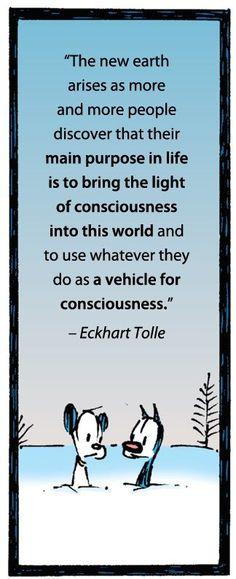 bring the light of consciousness