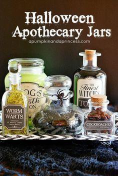 Halloween-Apothecary-Jars  #WWFallContest