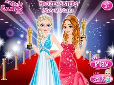 Frozen Sisters Movie Stars http://playfrozengames.com/frozen-games/frozen-sisters-movie-stars