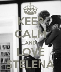 NEVER!! For always and ever. REPIN if you ship Delena. Stelena  >:(