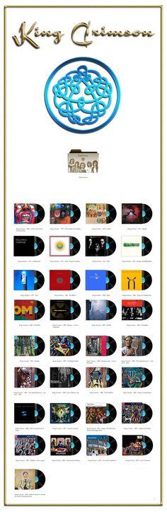 Album Art Icons: King Crimson