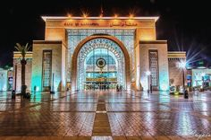 Train Station, La Gare De Marrakech, Marrakech, Morocco