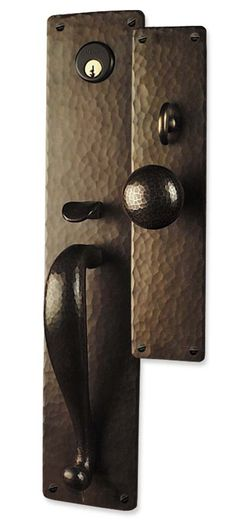 1000 images about arts and crafts doorknobs on pinterest for Arts and crafts hardware