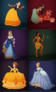 Reinterpreting Disney Princess Costumes Through a Historical Lens by Claire Hummel