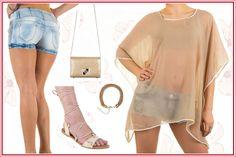 Sandaletten für Deinen Young Look – Römersandalen und Hotpants in Kombination zum Bestpreis!