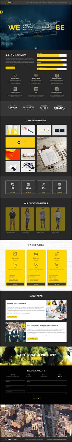 Linify is beautifully design multipurpose #WordPress #theme for creative business, #corporate, agency and portfolio website with 10+ amazing homepage layouts download now➩ https://themeforest.net/item/linify-multipurpose-creative-business-corporate-agency-portfolio-wordpress-theme/16575502?ref=Datasata