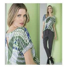 Blusa Viscose Estampa Folhagem Marinho e Verde | Shoulder ♡ Disponível TAM. P / G    ••》Whatsapp 43 9148-2241  ☎  43 3254-5125.    Rua Rio Grande do Norte, 19 Centro - Cambé-Pr  #venhaseapaixonar #fashionistando #carolcamilamodas #news #trend #estampas #inlove #estampaholic #guipir #fashion #style #workfashion #instafashion #provadorfashion #euqueroo