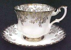 Teapots And Cups, Teacups, Fancy Tea Cups, China Tea Sets, Cuppa Tea, White Cups, My Cup Of Tea, Tea Service, Tea Infuser