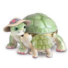Granddaughter Turtle Music Box: Grandma's Little Sweetheart by The Bradford Exchange