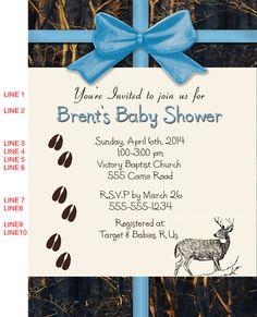 Boy realtree camo baby shower invitation real tree max 4 duck hunting camo baby shower invitations filmwisefo Gallery