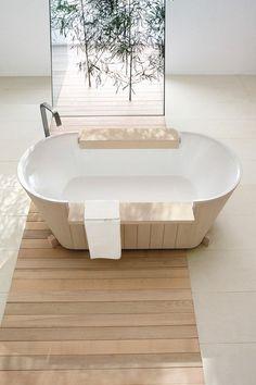 autonome solide NORVEGIA de bain en bois Dogi GeD Arredamenti