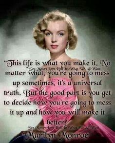 Marilyn Monroe quote ✦⊱Estella Seraphim⊰✦ #EstellaSeraphim @EstellaSeraphim