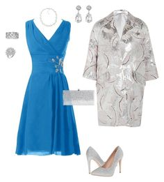 """ISEULT"" by blueheronseahorse on Polyvore featuring ADAM, Lauren Lorraine, Kenneth Jay Lane, Carolee, Jimmy Choo and vintage"