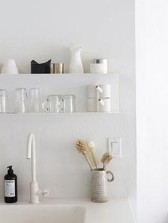 modern small kitchen open shelves   https://flic.kr/p/rkygyD   shelf