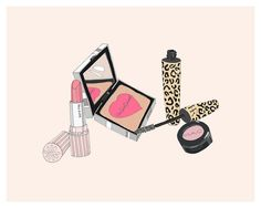 in my make up bag 8x10 by emmakisstina, via Flickr