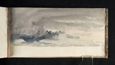 Joseph Mallord William Turner 'Study of Sky', c.1816–18