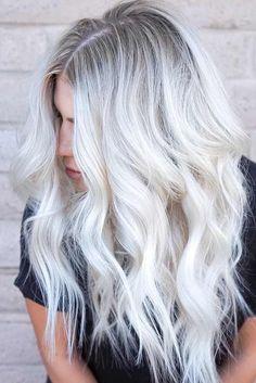 Nouvelle Tendance Coiffures Pour Femme  2017 / 2018   24 Bombshell Idées pour les cheveux blonds avec des faits saillants  Si élégant et Cute Blea