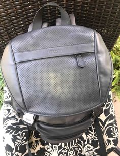 a162fd4228f1 Coach Backpack - Grey #fashion #clothing #shoes #accessories  #mensaccessories #bags