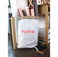 Kraft paper bag Paper / Paper Sack Storage / by Twomysterybox