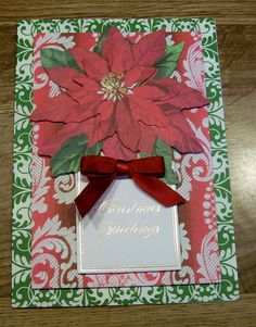 Anna Griffin Holiday Card Kit | Handmade Christmas Card Anna Griffin Design and Supplies Vintage Look ...