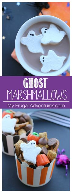 59ee392e418 Ghost Marshmallow Recipe (Perfect Halloween Treat