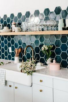 Casa Montada:  Formas diferentes de instalar azulejos e pastilhas