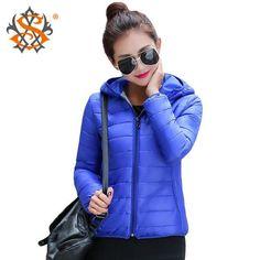 Super Warm Winter Parka Jacket Coat Ladies Jacket Slim Short Padded