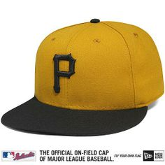 Pittsburgh Pirates Authentic Collection On-Field 59FIFTY Alternate Home Cap